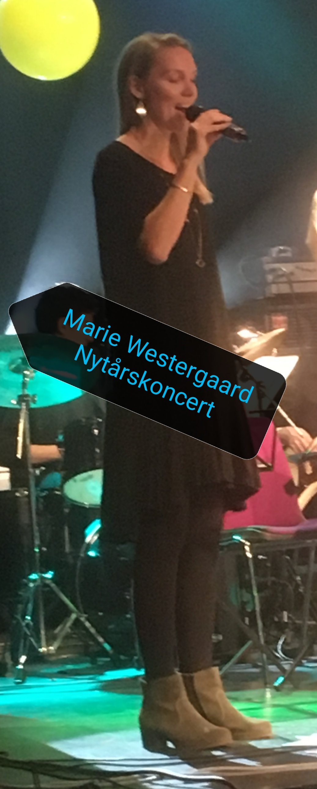 Marie Westergaard synger nytårskoncert